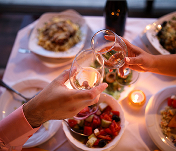 Date night package – 12 gift certificates to restaurants with babysitting service once a month for a year.