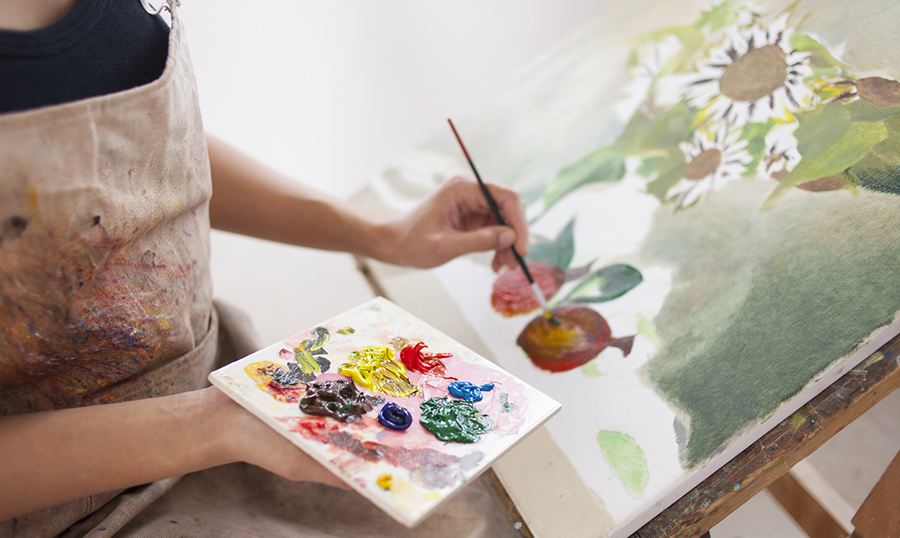 Image for Cancer Support: Painting Workshop